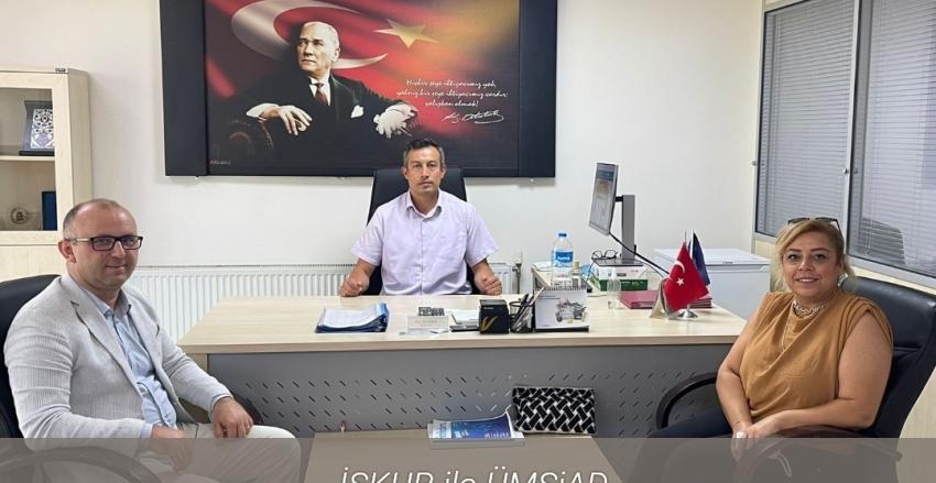 İŞKUR Ümraniye Müdürü Sn. Fahri ACAR'ı Ziyaret Ettik